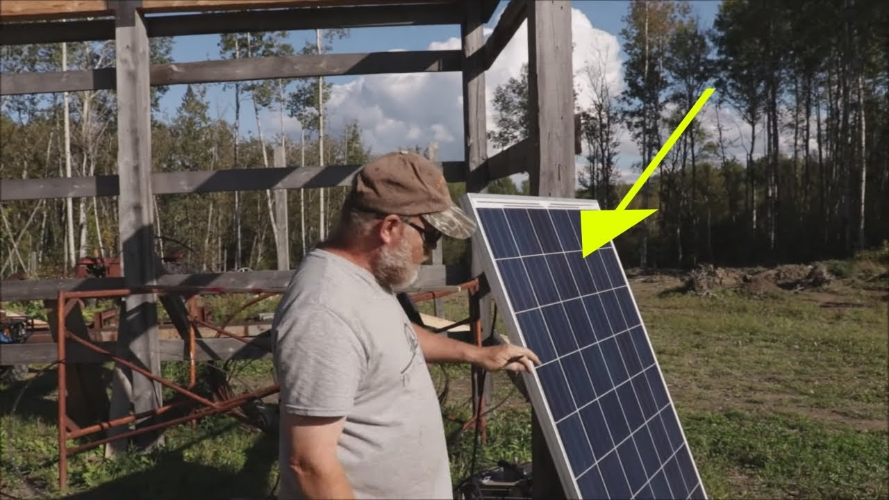 Solar panel Repair...Don't throw yours Out Until You Watch This Video! Off Grid Living.