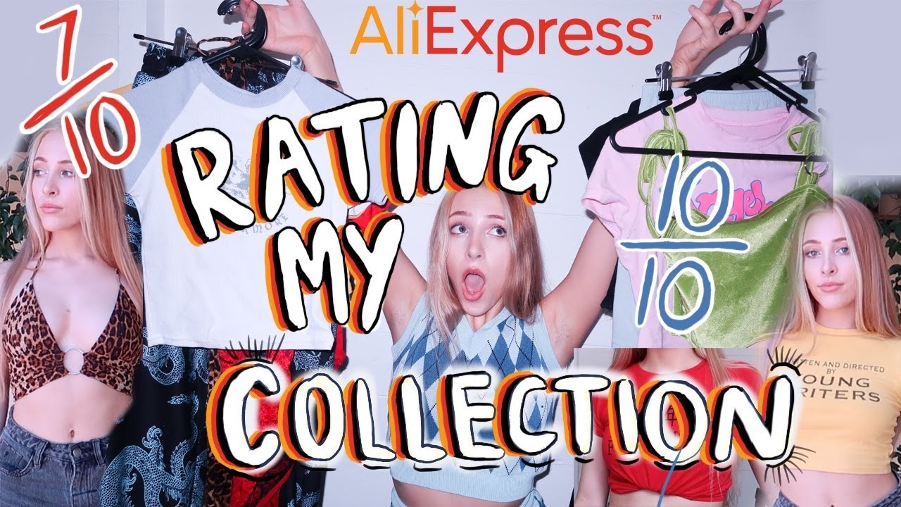 ✨AliExpress HAUL✨ RATING MY CLOTHES   ALI EXPRESS try on haul (part 1)