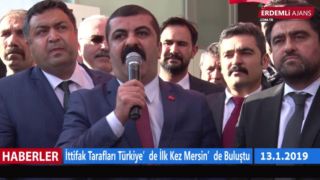 İttifak Tarafları Türkiye'de İlk Kez Mersin'de Buluştu