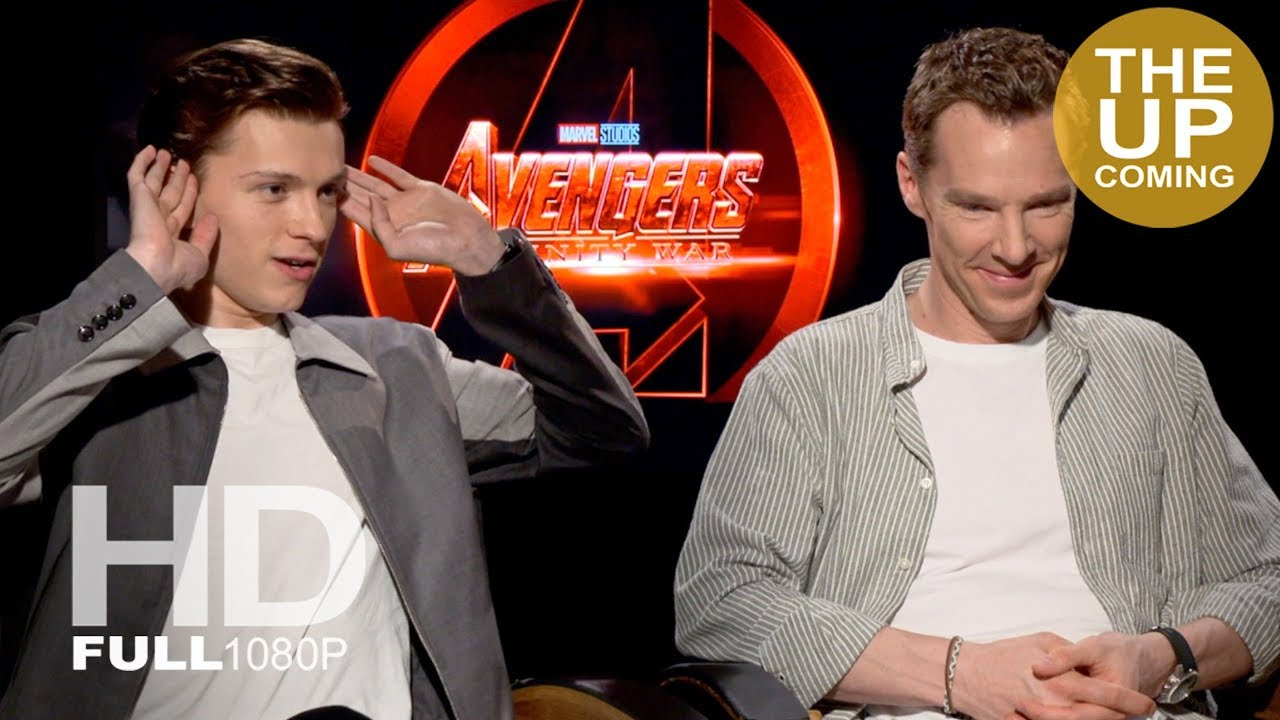 tom holland and benedict cumberbatch avengers infinity war ultimate
