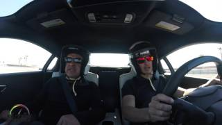 2017 Acura NSX 1st. track test drive with IndyCar Series Driver Graham Rahal