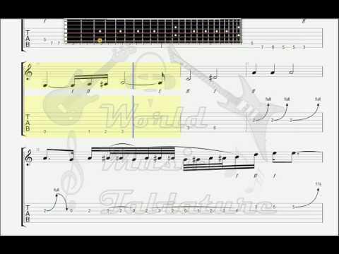 Deep Purple Stormbringer GUITAR TAB - YouTube