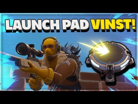 FORTNITE Launch Pad Vinst! - Med Ufosxm Battle Royale Gameplay På Svenska