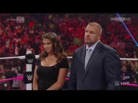The Authority, Paul Heyman & John Cena Opening RAW Segment