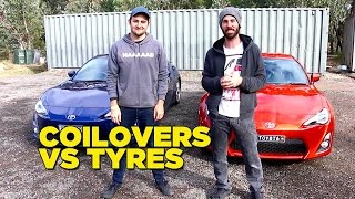 Download Coilovers VS Tyres Mp3 and Videos