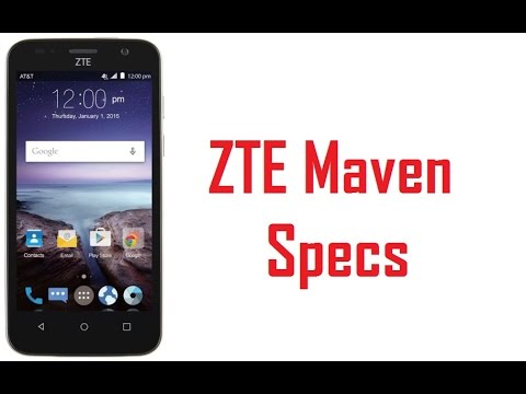 only drawback zte maven vs fusion 3 in: