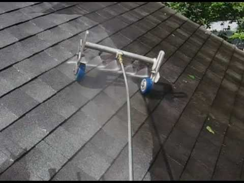 Rock N Roll Roof Cleaning Houston Texas Youtube