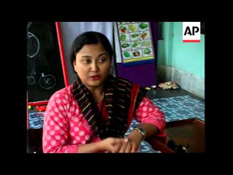 Campaigners try to improve the lives of disabled people in Bangladesh - 동영상