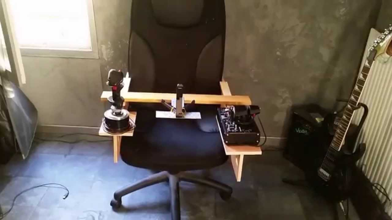 Diy Flying Chair Star Citizen Elite Dangerous Hotas