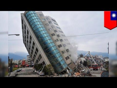 Taiwan earthquake: Buildings collapse, dozens missing in 6.4-magnitude quake - TomoNews