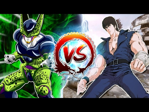 Dragon Ball Z Abridged: Cell Vs Kenshiro - written and edited by Innagadadavida