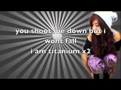 Christina Grimmie - Titanium (Lyrics On Screen)