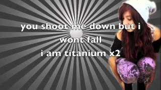 Christina Grimmie - Titanium (Lyrics On Screen)