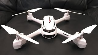 Hubsan H502S X4 Desire GPS FPV Drone Unboxing, Maiden Flight, and Review