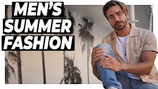 5 Easy Summer Outfits ANY GUY Can Pull Off! | Alex Costa