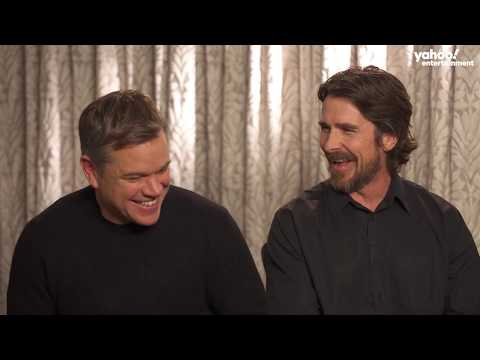 Matt Damon and Christian Bale get real about weight loss, Batman vs. Bourne and more [extended]