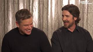 Download Matt Damon and Christian Bale get real about weight loss, Batman vs. Bourne and more [extended] Mp3 and Videos
