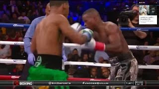 JACOBS VS. QUILLIN FULL FIGHT REVIEW | JACOBS DEMOLISHES QUILLIN IN 1 ROUND (Showtime)