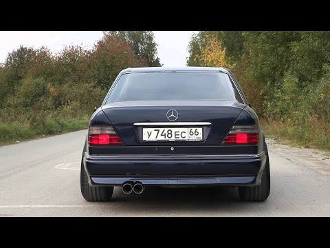 Mercedes w124 E500 & E60 Sound Compilation | Волчок рычит