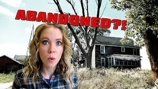 She Found an ABANDONED FARM!  - What She Found Inside is CRAZY . . .