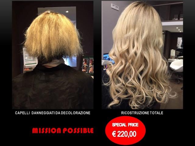 Capelli Danneggiati Da Decolorazione Mission Possible Hair Point