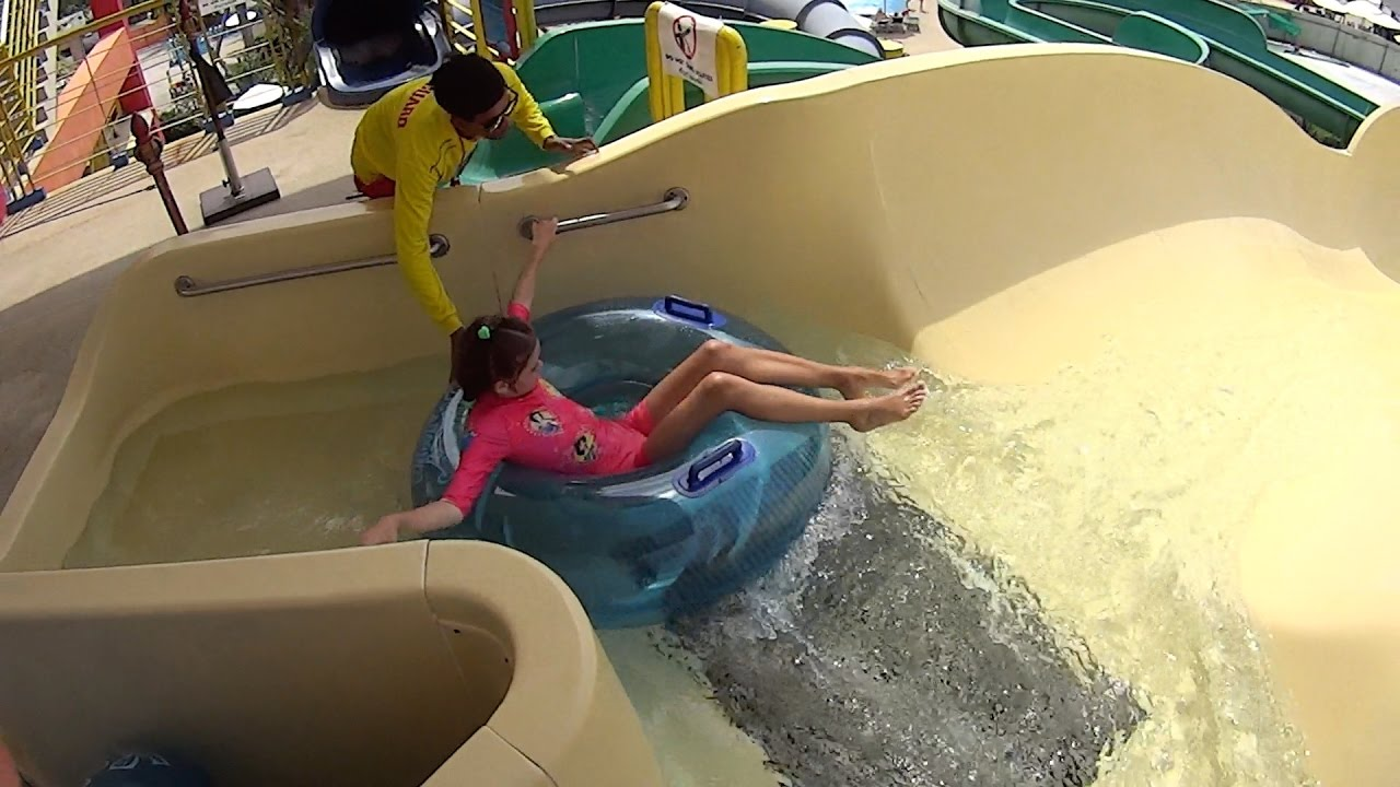 Tube Water Slide At Splash Jungle Water Park - Youtube-3292