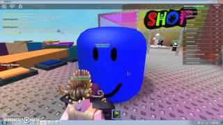 ROBLOX Mega Marble Pit Giant head Glitch