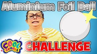 Arts and Crafts with Crafty Carol | Aluminium Foil Ball Challenge! | Crafts for Kids