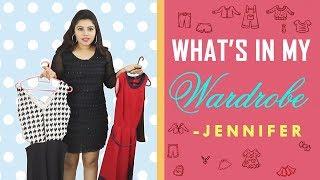 What's Inside My Wardrobe - 01 / Inside My Wardrobe with Tamil Actress Jennifer(Ghilli Movie Bhuvi)