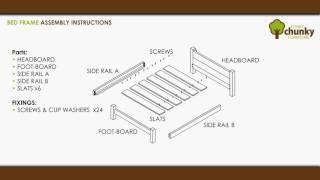 funky chunky furniture bed frame assembly instructions handmade rustic furniture