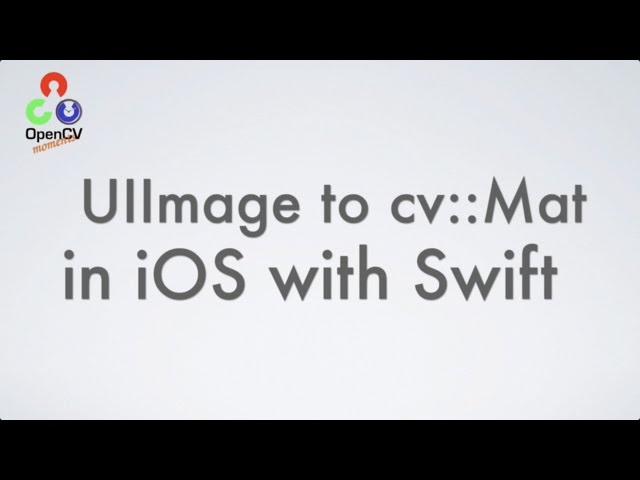 OpenCV Moments - YouTube