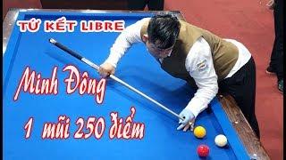 Tận dụng 1 sai lầm của Bốn Nguyễn, cơ thủ Minh Đông đã lọt vào Bán kết giải 당구  bida phăng  libre