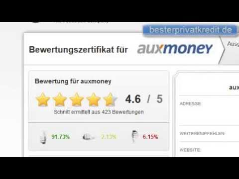 auxmoney erfahrungen online kredit von privat das. Black Bedroom Furniture Sets. Home Design Ideas
