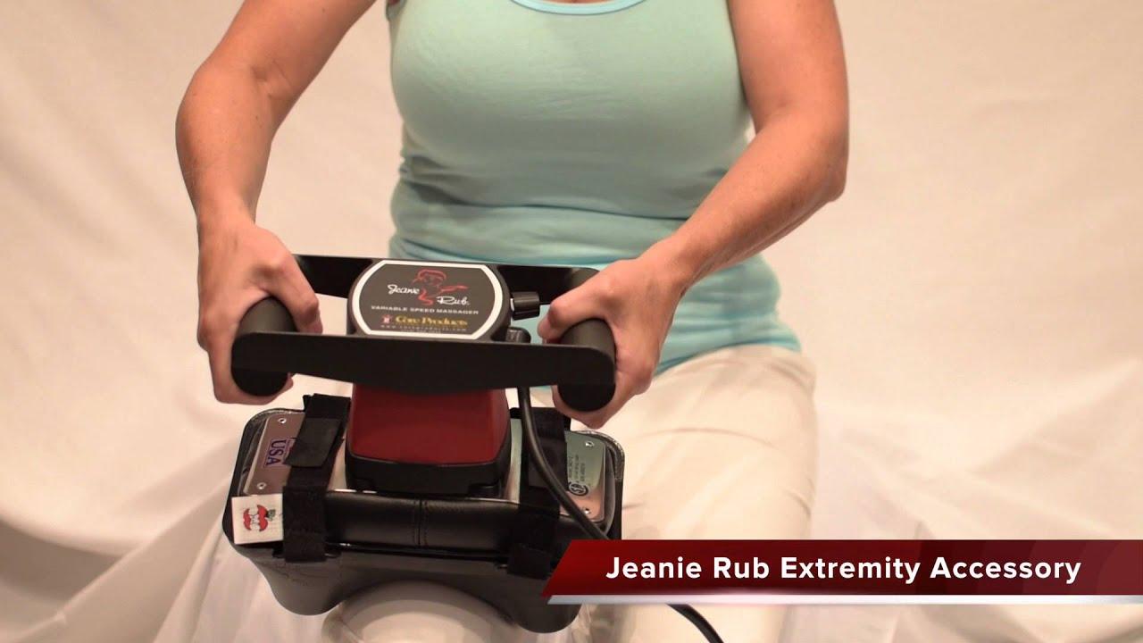 acc897 jeanie rub extremity accessory - Jeanie Rub Massager
