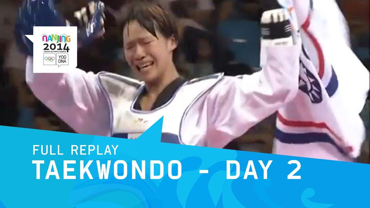 Taekwondo - Chinese Taipei Double Gold | Full Replay ...