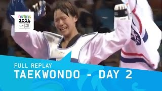 Taekwondo - Chinese Taipei Double Gold  | Full Replay | Nanjing 2014 Youth Olympic Games