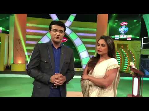 Rani Mukerji and Sourav Ganguly talks about his Hichki moment in life