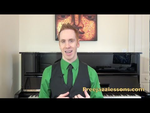How To Play Jazz Piano: Chords Substitution Lesson 1