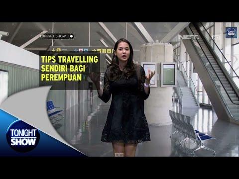 Tips travelling sendiri bagi perempuan ala Pevita Pearce
