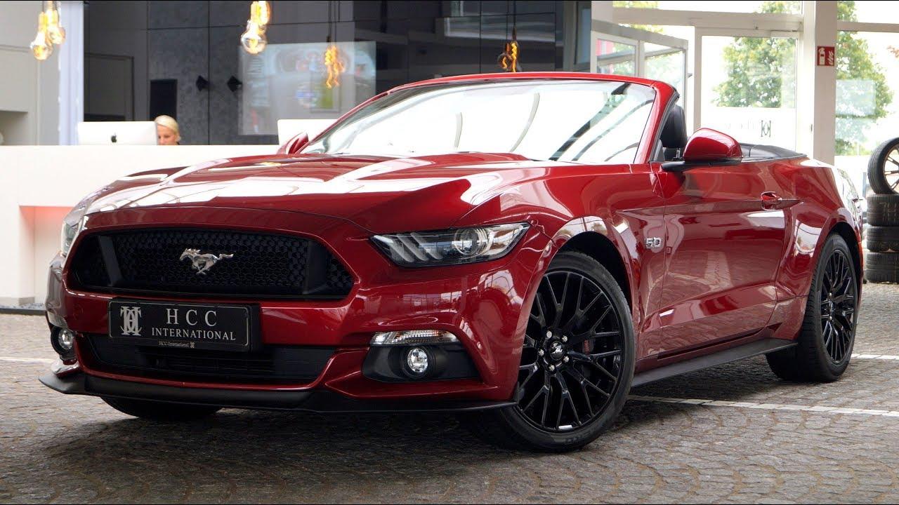 Hcc international ford mustang convertible gt 5 0 ti vct v8 premium