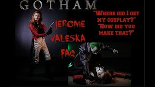 jerome valeska cosplay faq videowhere did i get my cosplay? new cosplay announcement