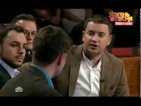 Андрей Губин на эфире телеканала НТВ , передачаЖизнь как песня