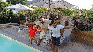 Room tour de notre nouvelle maison de vacances, au bassin d'Arcachon ,adel sami les boys tv