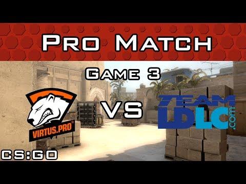 Virtus.pro vs Team LDLC Copenhagen Games Game 3 Mirage