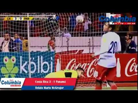 Gol de Ronald Matarrita Costa Rica 3-0 Panamá