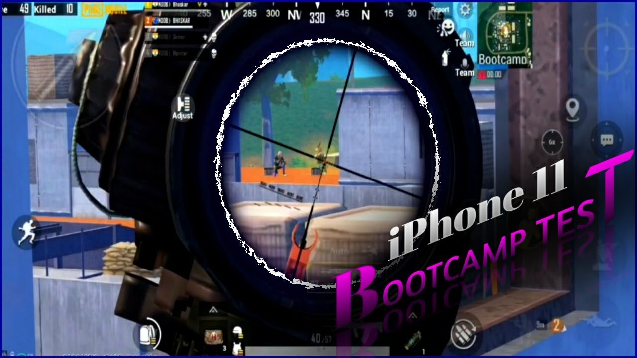 iPhone 11 Got Overpowered in BOOTCAMP | bootcamp Test !! Pubg Mobile
