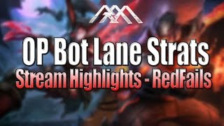 OP Bot Lane Strats - Stream Highlights #13 - League of Legends