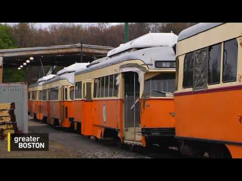 A Ride On The Mattapan Trolley Line