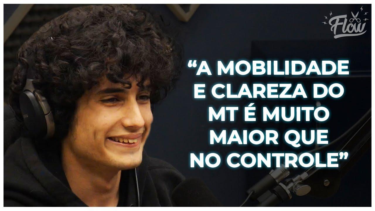 MOUSE E TECLADO VS CONTROLE | Cortes do Flow