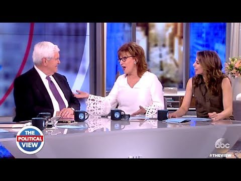 Image result for Newt Gingrich EVISCERATES Whoopi Goldberg For Bashing Trump On Live TV